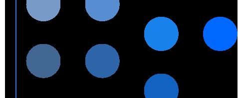 青の色調パターン