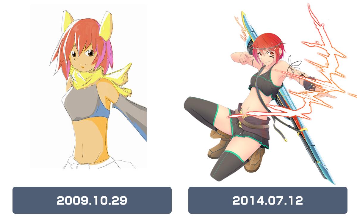 2009年と2014年の比較してみました